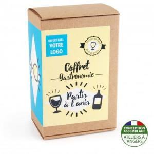 Coffret gastronomie Pastis version kraft