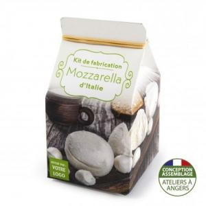Mini-coffret gastronomie Mozzarella version quadrichromie