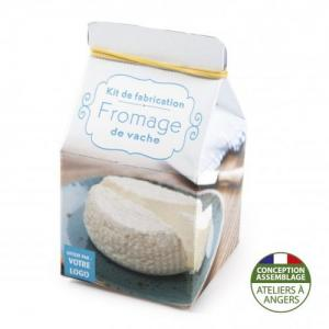 Mini-coffret gastronomie Fromage de lait de vache version quadrichromie