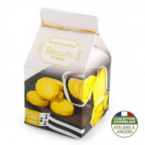 Mini-coffret gastronomie Biscuits version quadrichromie