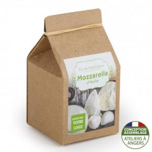 Mini-coffret gastronomie Mozzarella version kraft