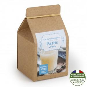 Mini-coffret gastronomie Pastis version kraft